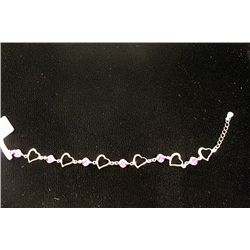 Tiffany & Co Heart Tanzanite Bracelet