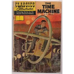 Silver Age Classics Illustrated The Time Machine Comic by H.G. Wells