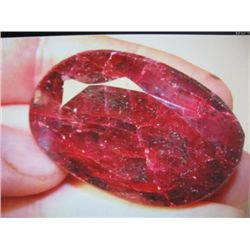 Large Beautiful African Ruby