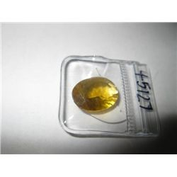 10.65 carat Yellow Flourite Gemstone