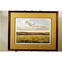 J. Thompson - Grasslands - Handsigned Lithograph
