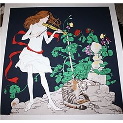 Odarin Dum Metant - Limited Edition Noyer Lithograph