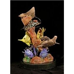 Bronze Sculpture - Key Largo Adventure by J. Townsend