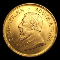 1978 Krugerrand Pure Gold One Ounce BU