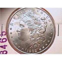 1902-O Morgan Dollar MS63