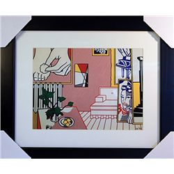 Roy Lichtenstein Limited Edition-Artist Studio - Foot Medication