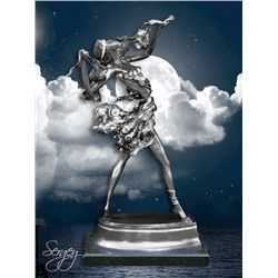 Nocturnal Dancer - Limited Edition Real Silver Sculpture by Sergey
