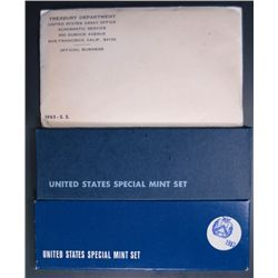1965, 1966, & 1967 SPECIAL MINT SETS, ALL ORIGINAL MINT PACKAGING