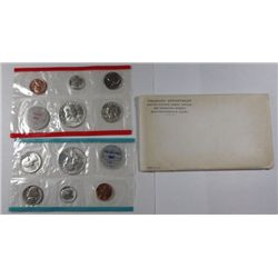 1963 U.S. PROOF AND MINT SET, ORIGINAL PACKAGING