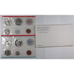1964 U.S. PROOF AND MINT SETS, ORIGINAL PACKAGING