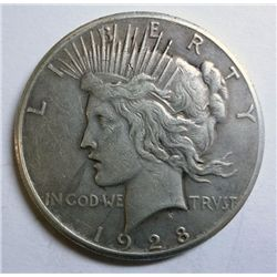 1928 PEACE DOLLAR XF ORIGINAL