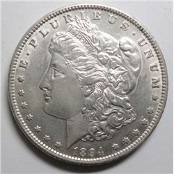 1894 Morgan $  AU    AU GS bid = $1500