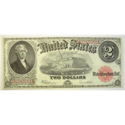1917  $2  legal tender note   CU