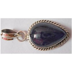 Natural 19.65 ctw Tanzanite Pendant 925 Sterling