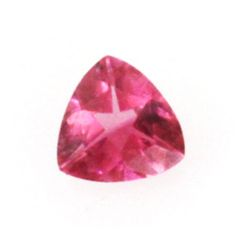 Natural 1.25ctw Pink Tourmaline Trillion Cut Stone