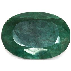 African Emerald Loose Gems 228.59ctw Oval Cut