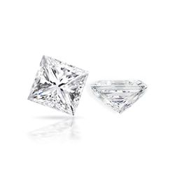 Diamond EGL Cert.  Princess 0.96ct D, SI1