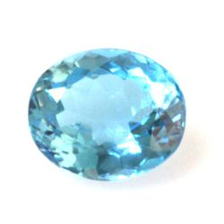 Natural 4.13ctw Blue Topaz Oval 10x14 Stone