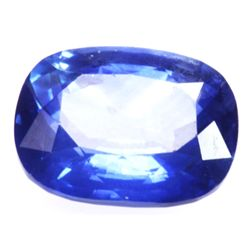 Natural 3.02ctw Ceylon Sapphire Emerald Cut Stone