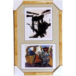 Fanz Kline and Pablo Picasso-Lithographs Set