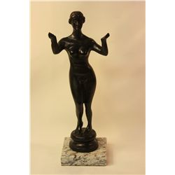 Nadelman  Original, limited Edition  Bronze - Standing Nude