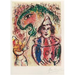 Circus- Chagall - Limited Edition on Canvas
