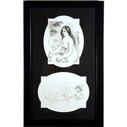Renoir Posthumous Etching Set