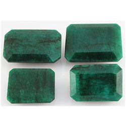 Emerald 458ct Loose Gemstone Mix Sizes Emerald Cut