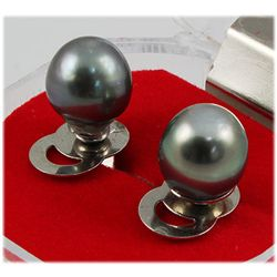 9.0MM Round Stud Earring South Sea Pearl
