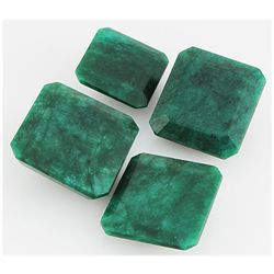 Emerald 401.5ct Loose Gemstone Mix Sizes Square Cut