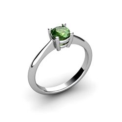Tourmaline 0.45ctw Ring 14kt White Gold