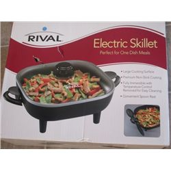 RIVAL ELECTRIC SKILLET  ( BRAND NEW IN BOX )