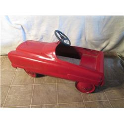 ANTIQUE ALL ORIGINAL PEDAL CAR