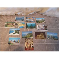 13 POST CARDS