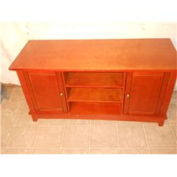 SMALL 2 DOOR WOOD DRESSER