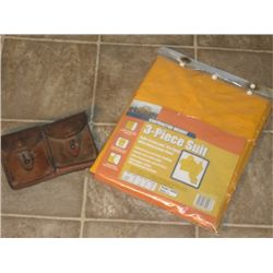Construction Weight 3 Piece suit still in package