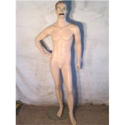 nude Male Manikin. Mondo stamp on back