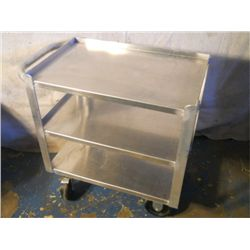 Win-Holt stainless steel rolling cart