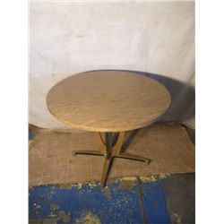 "Round Dining 29 1/2"" tall Table"