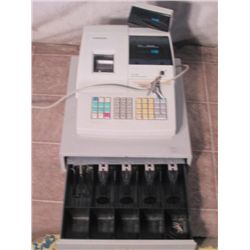 Samsung ER 290 electric cash register w/ keys