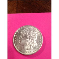 1887-O Morgan Dollar MS, BU