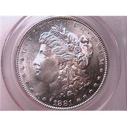 1881-S Morgan Dollar MS65 PCGS