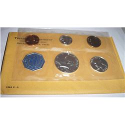 1964 SILVER MINT PROOF SET