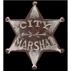 City Marshal Badge