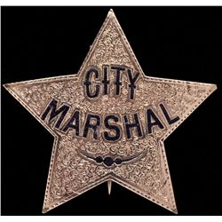 Gold City Marshal Badge