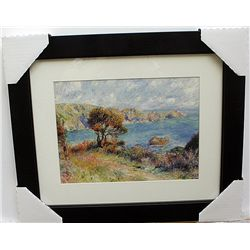 LIMITED EDITION LITHOGRAPH BY CLAUDE MONET