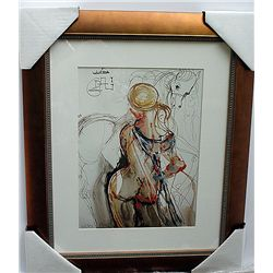 STUNNING SIGNED LIMITED EDITION LITHOGRAPH BY SALVADOR DALI
