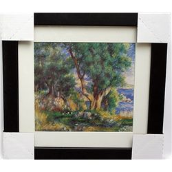 ELEGANT SIGNED LIMITED EDITION LITHOGRAPH BY PIERRE AUGUSTE RENOIR