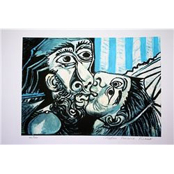 Picasso Limited Edition - The Kiss - from Collection Domaine Picasso