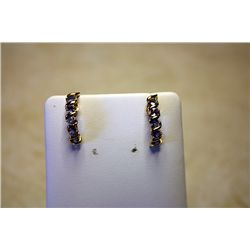 #68 - 2.5ct Tanzanite Earrings